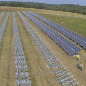 1-MW solar array on closed municipal landfill
