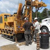 site investigation drilling